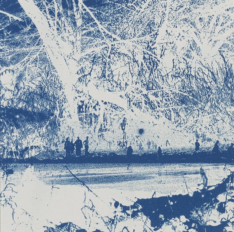 Auf der Suche nach der blauen Blume II, 2006, 14,5 x 14,5 cm