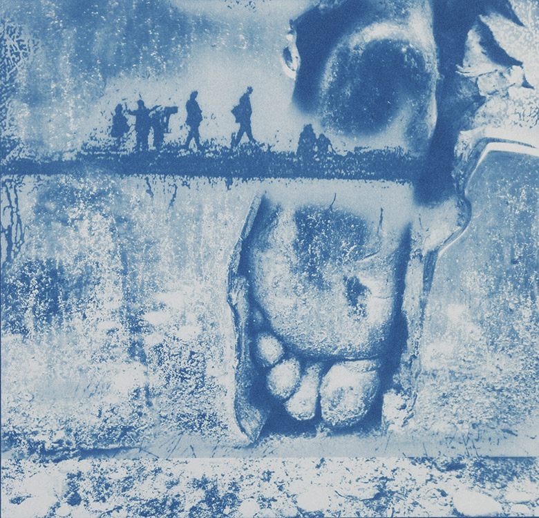 Spurensuche 2006, 23 x 23 cm