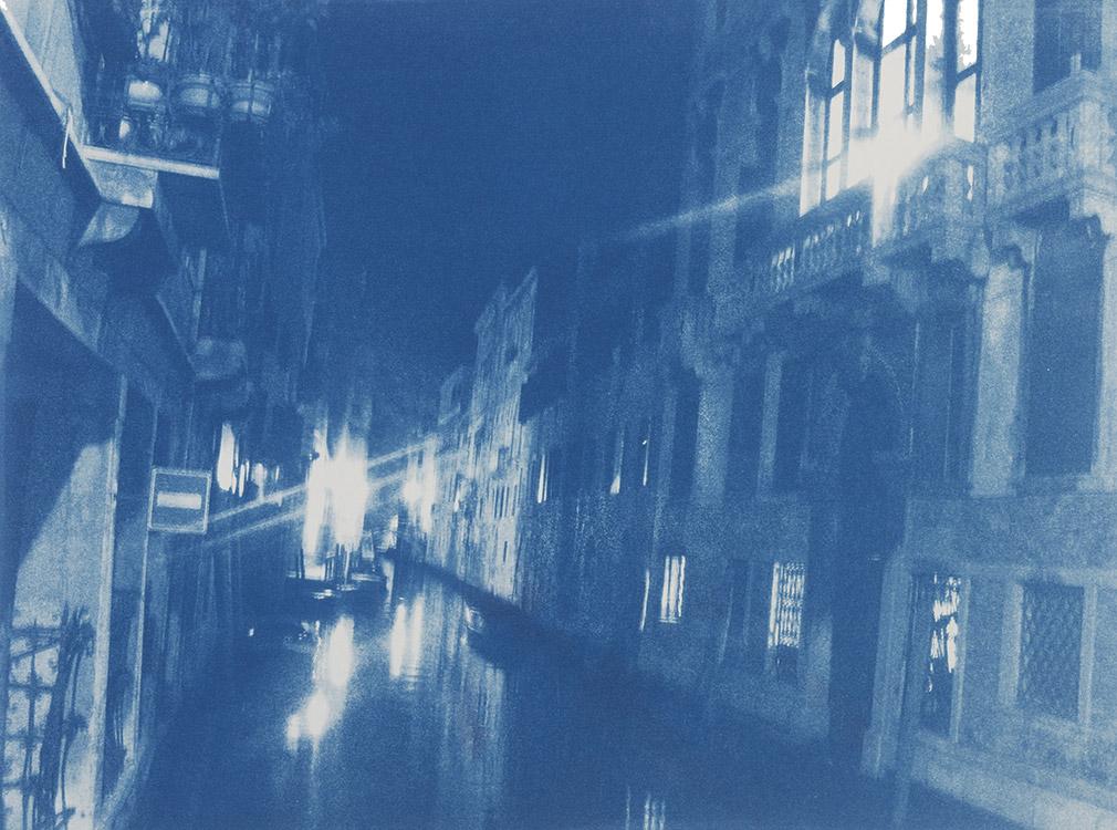 Nacht in Venedig, 2010, 29,5 x 40,5 cm