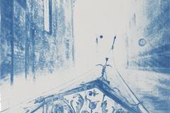 Gondelfahrt, 2010, 28 x 30 cm